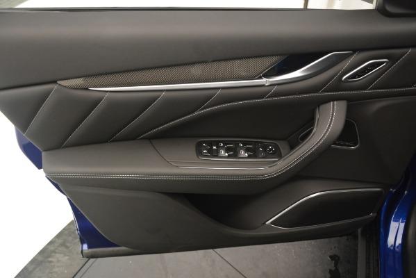 New 2019 Maserati Levante SQ4 GranSport Nerissimo for sale Sold at Maserati of Westport in Westport CT 06880 17