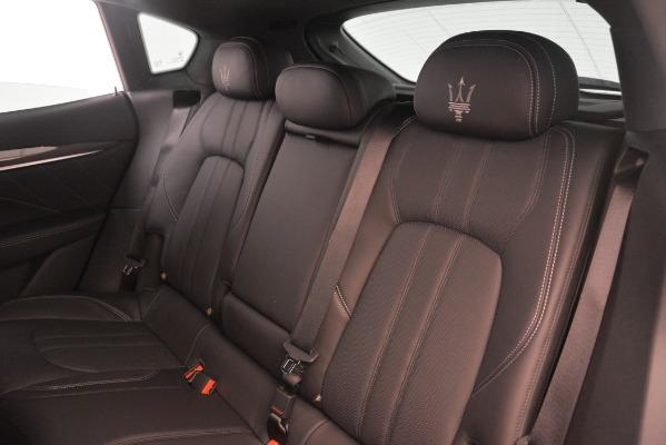 New 2019 Maserati Levante SQ4 GranSport Nerissimo for sale Sold at Maserati of Westport in Westport CT 06880 18