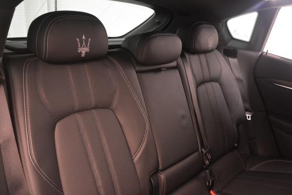 New 2019 Maserati Levante SQ4 GranSport Nerissimo for sale Sold at Maserati of Westport in Westport CT 06880 26