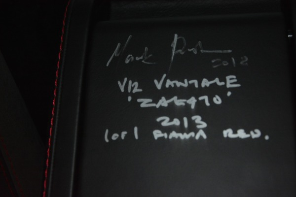 Used 2013 Aston Martin V12 Zagato Coupe for sale $655,900 at Maserati of Westport in Westport CT 06880 25