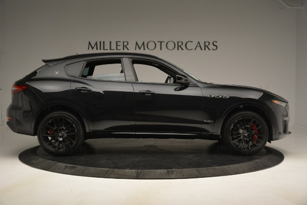 New 2019 Maserati Levante SQ4 GranSport Nerissimo for sale Sold at Maserati of Westport in Westport CT 06880 9