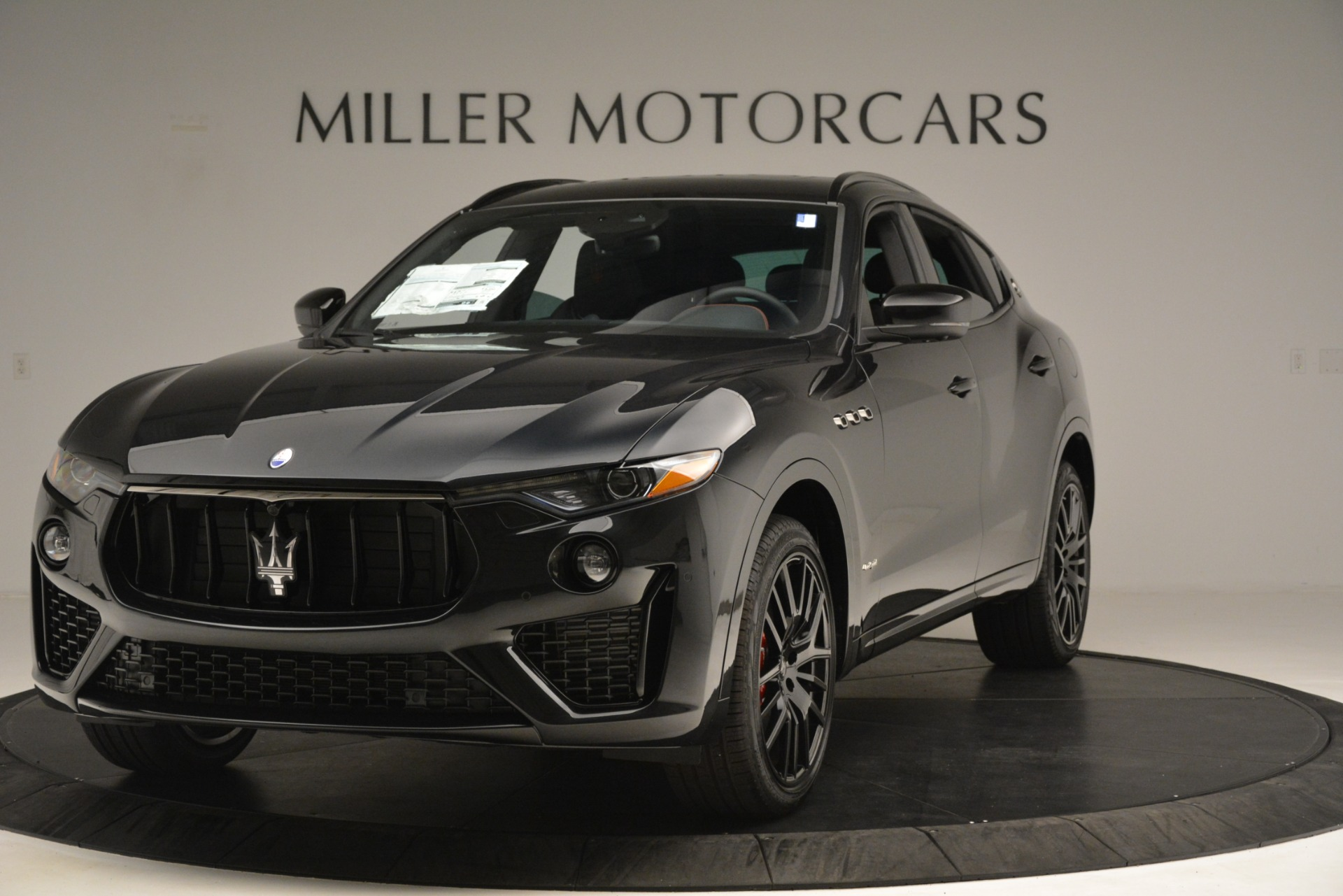 New 2019 Maserati Levante SQ4 GranSport Nerissimo for sale Sold at Maserati of Westport in Westport CT 06880 1