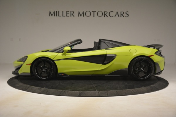 New 2020 McLaren 600LT SPIDER Convertible for sale $281,570 at Maserati of Westport in Westport CT 06880 10