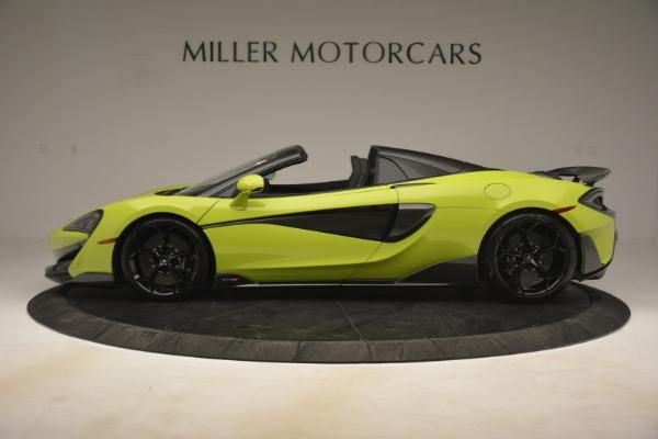 New 2020 McLaren 600LT Spider for sale $281,570 at Maserati of Westport in Westport CT 06880 10