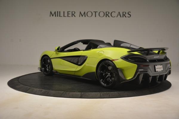 New 2020 McLaren 600LT Spider for sale $281,570 at Maserati of Westport in Westport CT 06880 11