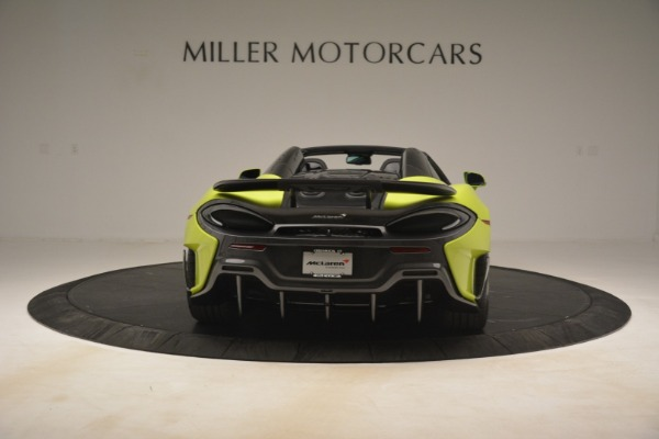 New 2020 McLaren 600LT SPIDER Convertible for sale $281,570 at Maserati of Westport in Westport CT 06880 12