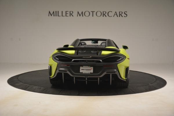 New 2020 McLaren 600LT Spider for sale $281,570 at Maserati of Westport in Westport CT 06880 12