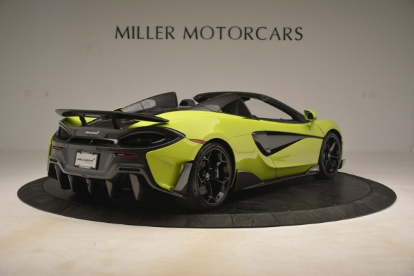 New 2020 McLaren 600LT SPIDER Convertible for sale $281,570 at Maserati of Westport in Westport CT 06880 13
