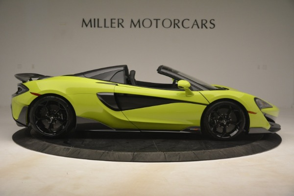 New 2020 McLaren 600LT SPIDER Convertible for sale $281,570 at Maserati of Westport in Westport CT 06880 14