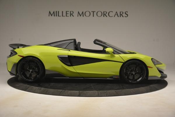 New 2020 McLaren 600LT Spider for sale $281,570 at Maserati of Westport in Westport CT 06880 14