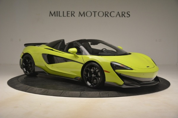 New 2020 McLaren 600LT SPIDER Convertible for sale $281,570 at Maserati of Westport in Westport CT 06880 15