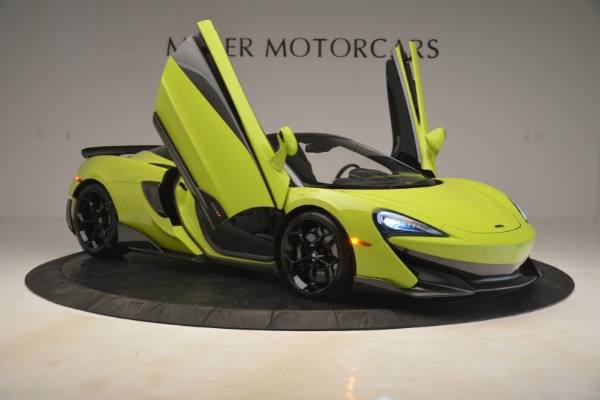New 2020 McLaren 600LT Spider for sale $281,570 at Maserati of Westport in Westport CT 06880 16