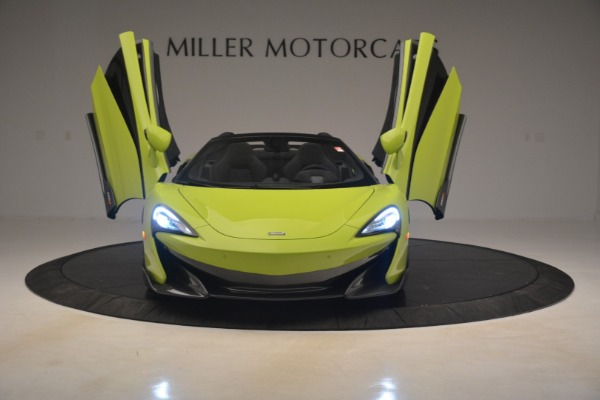 New 2020 McLaren 600LT SPIDER Convertible for sale $281,570 at Maserati of Westport in Westport CT 06880 17