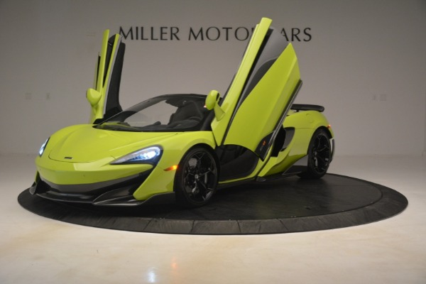New 2020 McLaren 600LT SPIDER Convertible for sale $281,570 at Maserati of Westport in Westport CT 06880 18