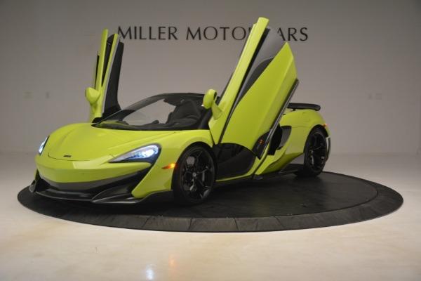 New 2020 McLaren 600LT Spider for sale $281,570 at Maserati of Westport in Westport CT 06880 18