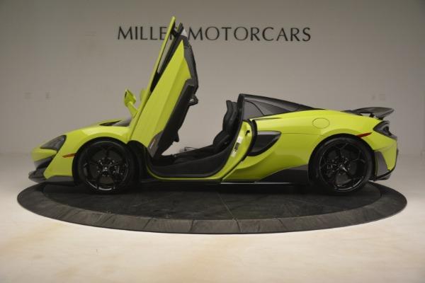 New 2020 McLaren 600LT Spider for sale $281,570 at Maserati of Westport in Westport CT 06880 19