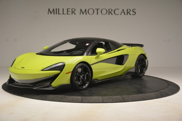 New 2020 McLaren 600LT SPIDER Convertible for sale $281,570 at Maserati of Westport in Westport CT 06880 2