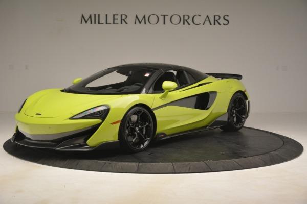 New 2020 McLaren 600LT Spider for sale $281,570 at Maserati of Westport in Westport CT 06880 2