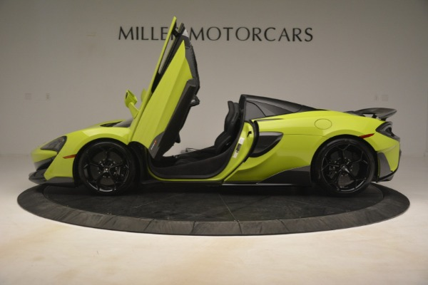New 2020 McLaren 600LT SPIDER Convertible for sale $281,570 at Maserati of Westport in Westport CT 06880 20