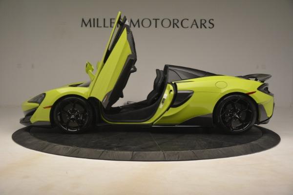 New 2020 McLaren 600LT Spider for sale $281,570 at Maserati of Westport in Westport CT 06880 20