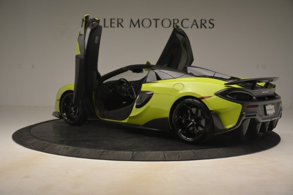 New 2020 McLaren 600LT Spider for sale $281,570 at Maserati of Westport in Westport CT 06880 21
