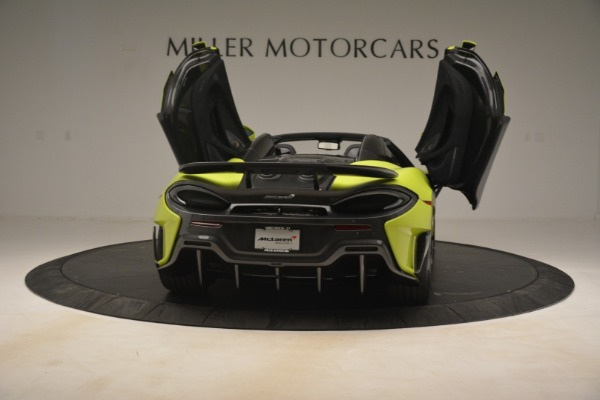 New 2020 McLaren 600LT SPIDER Convertible for sale $281,570 at Maserati of Westport in Westport CT 06880 22