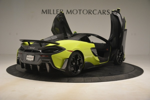 New 2020 McLaren 600LT SPIDER Convertible for sale $281,570 at Maserati of Westport in Westport CT 06880 23