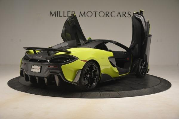 New 2020 McLaren 600LT Spider for sale $281,570 at Maserati of Westport in Westport CT 06880 23
