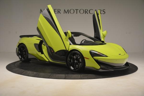 New 2020 McLaren 600LT Spider for sale $281,570 at Maserati of Westport in Westport CT 06880 25