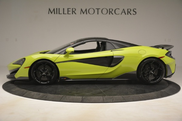 New 2020 McLaren 600LT SPIDER Convertible for sale $281,570 at Maserati of Westport in Westport CT 06880 3