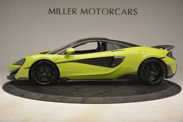New 2020 McLaren 600LT Spider for sale $281,570 at Maserati of Westport in Westport CT 06880 3
