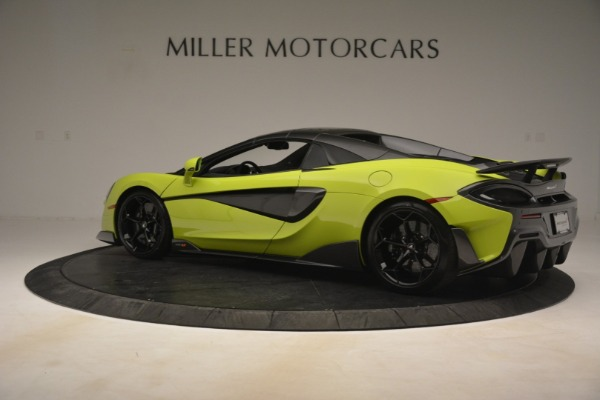New 2020 McLaren 600LT SPIDER Convertible for sale $281,570 at Maserati of Westport in Westport CT 06880 4