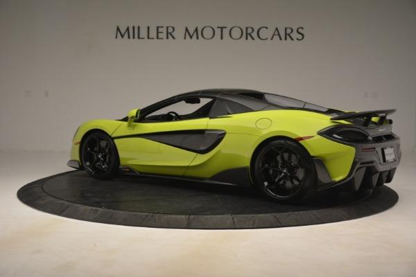 New 2020 McLaren 600LT Spider for sale $281,570 at Maserati of Westport in Westport CT 06880 4
