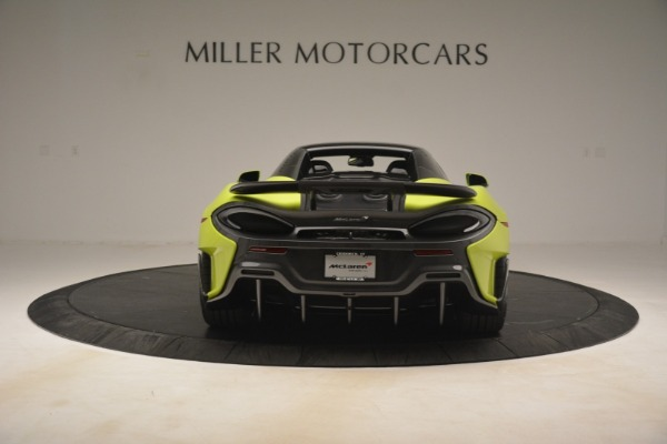 New 2020 McLaren 600LT Spider for sale $281,570 at Maserati of Westport in Westport CT 06880 5