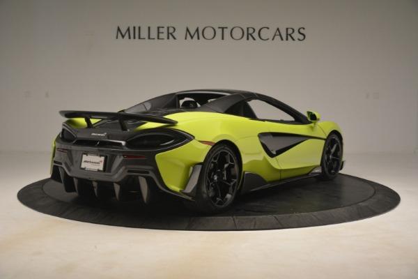 New 2020 McLaren 600LT Spider for sale $281,570 at Maserati of Westport in Westport CT 06880 6