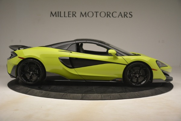 New 2020 McLaren 600LT SPIDER Convertible for sale $281,570 at Maserati of Westport in Westport CT 06880 7