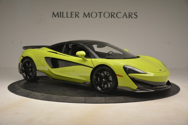New 2020 McLaren 600LT SPIDER Convertible for sale $281,570 at Maserati of Westport in Westport CT 06880 8