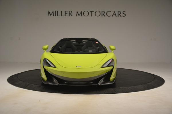 New 2020 McLaren 600LT Spider for sale $281,570 at Maserati of Westport in Westport CT 06880 9