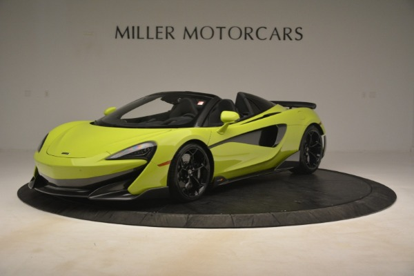 New 2020 McLaren 600LT SPIDER Convertible for sale $281,570 at Maserati of Westport in Westport CT 06880 1