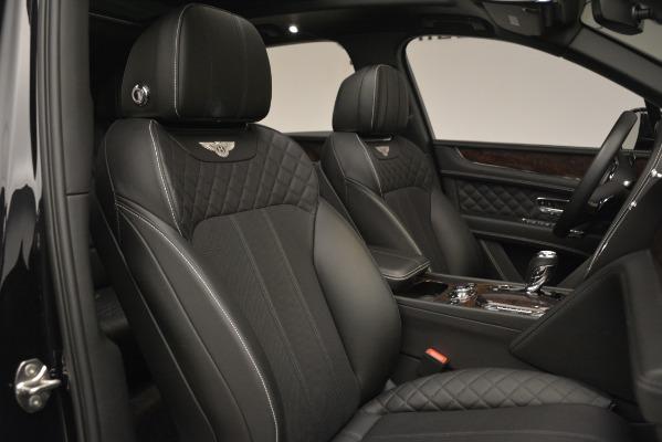 Used 2017 Bentley Bentayga W12 for sale Sold at Maserati of Westport in Westport CT 06880 27