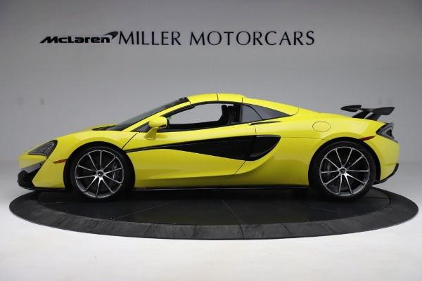 New 2019 McLaren 570S SPIDER Convertible for sale $227,660 at Maserati of Westport in Westport CT 06880 10