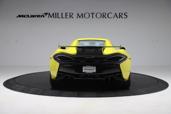 New 2019 McLaren 570S SPIDER Convertible for sale $227,660 at Maserati of Westport in Westport CT 06880 12