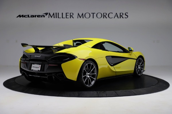New 2019 McLaren 570S SPIDER Convertible for sale $227,660 at Maserati of Westport in Westport CT 06880 13