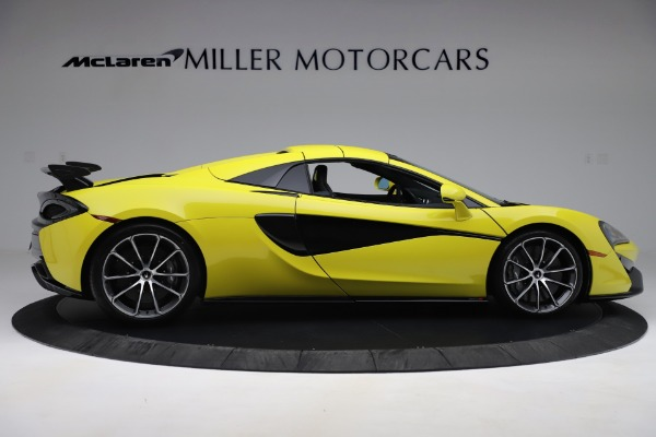 New 2019 McLaren 570S SPIDER Convertible for sale $227,660 at Maserati of Westport in Westport CT 06880 14