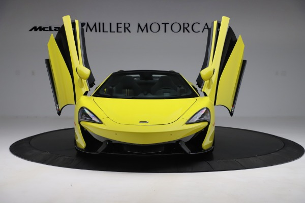 New 2019 McLaren 570S SPIDER Convertible for sale $227,660 at Maserati of Westport in Westport CT 06880 17