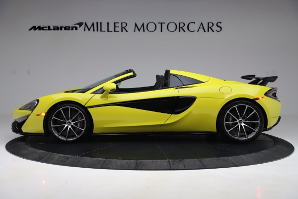 New 2019 McLaren 570S SPIDER Convertible for sale $227,660 at Maserati of Westport in Westport CT 06880 2