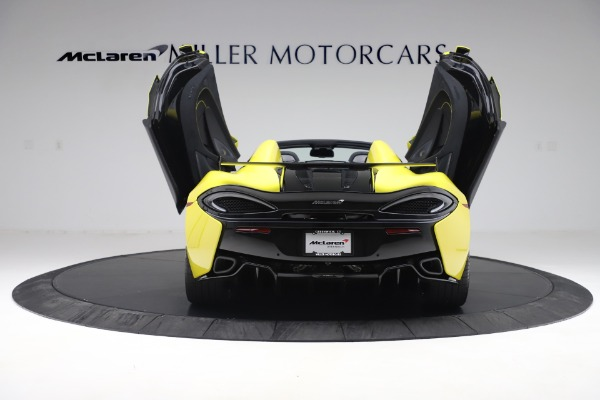 New 2019 McLaren 570S SPIDER Convertible for sale $227,660 at Maserati of Westport in Westport CT 06880 20