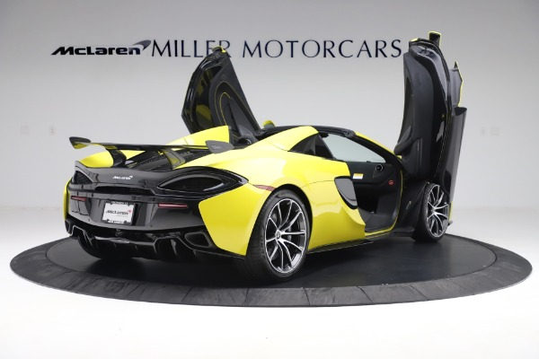 New 2019 McLaren 570S SPIDER Convertible for sale $227,660 at Maserati of Westport in Westport CT 06880 21