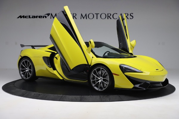 New 2019 McLaren 570S SPIDER Convertible for sale $227,660 at Maserati of Westport in Westport CT 06880 22