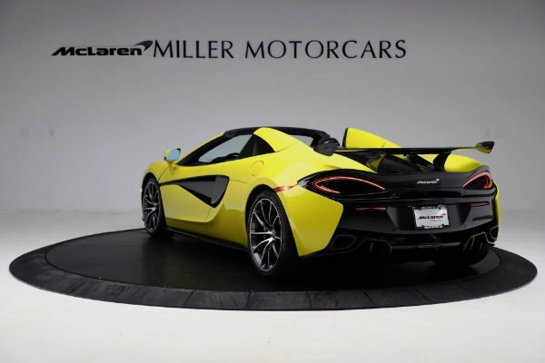 New 2019 McLaren 570S SPIDER Convertible for sale $227,660 at Maserati of Westport in Westport CT 06880 3